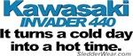 Cold Day - Hot Time - Kawasaki Invader 440