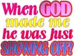 God Showing Off