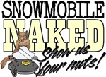Snowmobile Naked Squirrel
