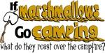 Marshmallows go Camping
