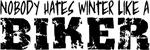 Hating Winter