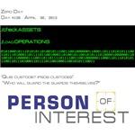 Person of Interest Zero Day