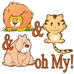 Lion and Tigers and Bears Oh My