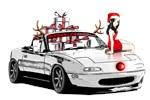 Christmas MX5