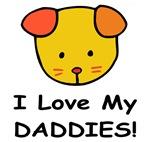 I Love My Daddies (Puppy) Baby Wear & Gifts