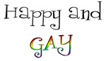 Happy & Gay T-Shirts & Gifts