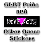 Pride Stickers, Lesbian Stickers, Gay Stickers