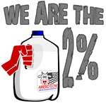 We are the 2% Milk!