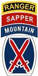 10th Mountain Ranger Sapper