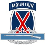 10th Mountain CIB