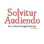 It is solved through listening