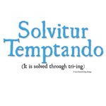 It is solved through trying (