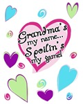 Grandma's my name spoilin's my game shirt