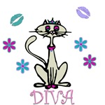 Diva Cat Tees And More