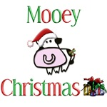 Mooey Christmas Adult Cow