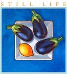 Still Life - Blue Aubergines