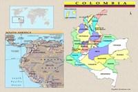 Colombia en Mapas y más