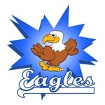 EAGLES TEAM MASCOT T-SHIRTS AND GIFTS