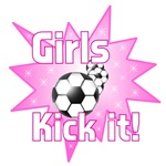 GIRLS KICK IT SOCCER