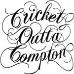 Cricket Outta Compton - light background