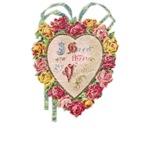 Victorian Heart Valentine