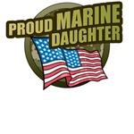 Marine Daughter T-Shirts