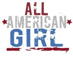 All American Girl T-Shirts