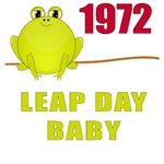 1972 Leap Year Baby T-Shirts