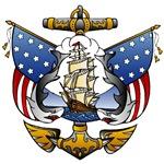 Vintage Naval Tattoo T-Shirts