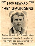 Ab Saunders Wanted