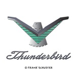 T Bird Emblem with Script
