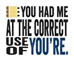 You Had Me Correct Grammar