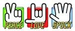 Peace Love Spock