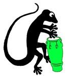 Gecko Drummer