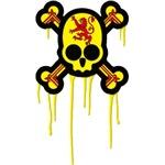 Scottish Punk Skull
