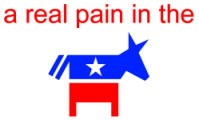 Pain in the DNC