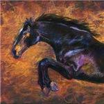 Shimmering Strenth, jumping horse