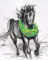 Holiday Horse gifts and Greeting Cards