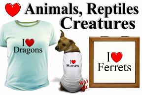 Animals, Reptiles & Creatures