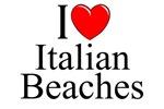I Love (Heart) Italian Beaches