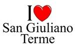 I Love (Heart) San Giuliano Terme, Italy