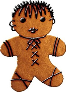 Gothic Gingerbread Man