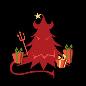 Devil Holiday Tree
