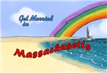 Get Married In Massachusetts T-shirts & Gifts