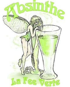 Absinthe Fairy With Glass