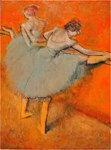 Famous Paintings: Two Dancers