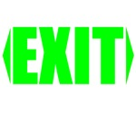exit go leave