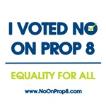 I voted NO on 8