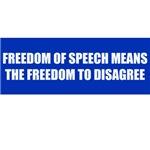 Free to Disagree