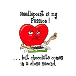 Needlepoint and Chocolate